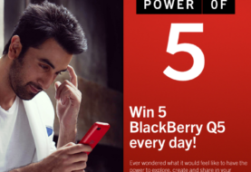 Power of 5: Play Quiz & Win BlackBerry Q5 Smartphone everyday