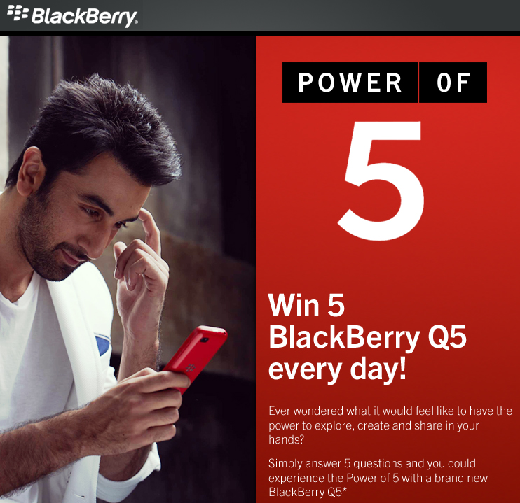 blackberry quiz_power of 5