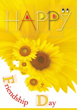 friendship day happy post card