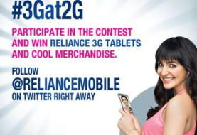 Win FREE Reliance 3G Tablets and Cool Merchandise