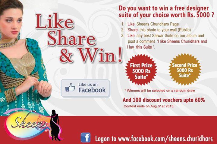 win free salwar suite