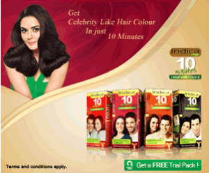 FREE Sample of Indica 10 Minutes Hair Color