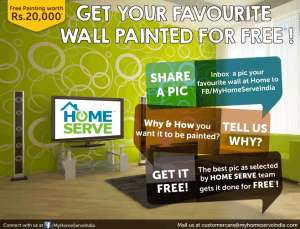 Get Your Favourite Wall Painted for FREE on this Diwali