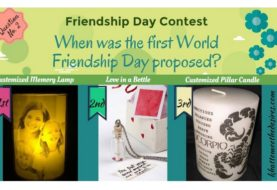 Friendship day contest! Answer question & win Free Gifts