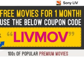 Free Movies Samples For 1 Month @Sonyliv.com