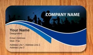 free visiting card samples