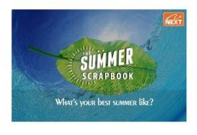 Summer Scrapbook Contest: Win Amazing Gift Prizes
