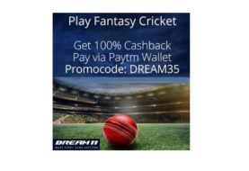 Free Cashback Samples With Paytm Account Dream League