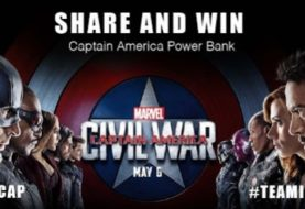 Get Free Power Bank Captain America Shields Samples