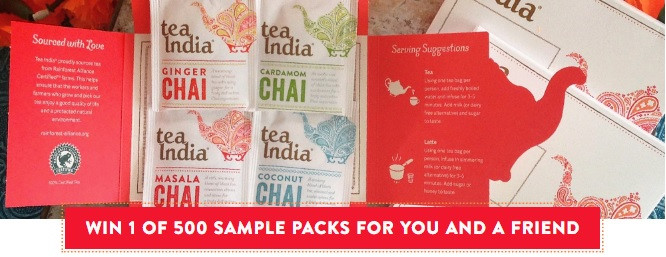 masala chai free samples