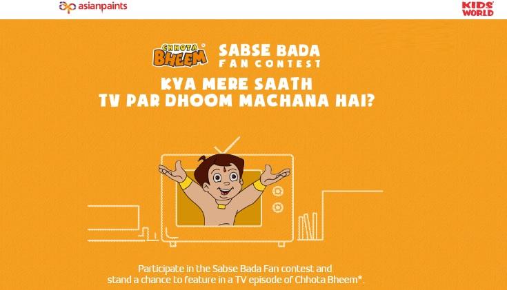 asianpaint-free-chhota-bheem-contest